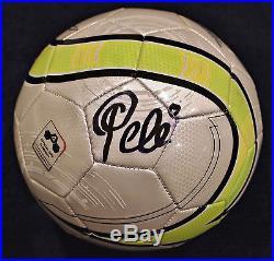 Pele Signed Autographed Soccer Ball Edson Brazil Futbol Football Hologram + Coa