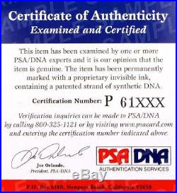 Pele Signed Leather Vintage Brasil Soccer Ball Auto Brazil PSA DNA ITP