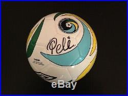 Pele Signed New York Cosmos Soccer Ball NASL Brazil PSA ITP COA #5A80398