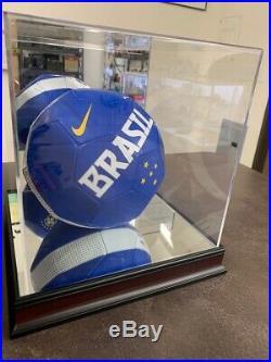 Pele Signed Nike Brazil Soccer Ball- Psa Dna Autograph (imp006245)