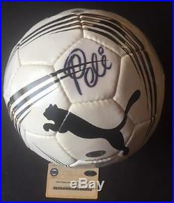 c399ea4b211 Pele Signed Puma Soccer Ball Rare Autograph Steiner Coa | Signed ...