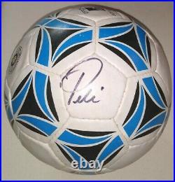 Pelé Signed Soccer Ball