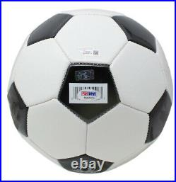 Pele Signed Soccer Ball (PSA Hologram, Pele Hologram, & Fanatics Hologram)