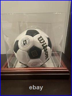 Pele Signed Soccer Ball (Wilson)