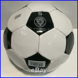 Pele holo signed Baden Soccer Ball mint autograph Brazil NY Cosmos CBM COA