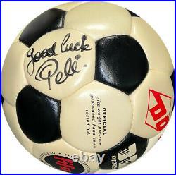 Pele signed Official FIFA B2 Panel Regulation Size 5 Soccer/ Ball Beckett sig