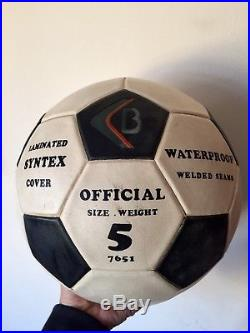 Pele signed soccer ball