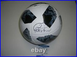 Philippe Coutinho Brazil World Cup Russia 2018 Beckett/coa Signed Soccer Ball