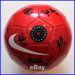 Portland Thorns 2018 Team Signed Soccer Ball withCOA Portland Thorns Size 4