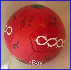 Portland Thorns 2018 team signed Logo Soccer Ball Sinclair, Klingenberg, Horan