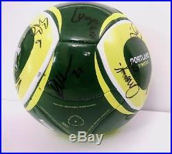 Portland Timbers 2011 First MLS Season, Team Signed Soccer Ball, Nagbe, Jewsbury