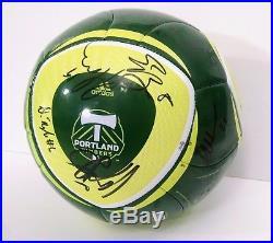 Portland Timbers Inaugural MLS Season 2011 Team Autographed Soccer Ball