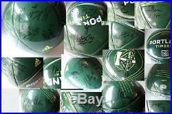 Portland Timbers Signed Team Ball Autographed Auto Nagbe Zemanski Chara Jewsbury