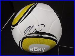 Portugal Cristiano Ronaldo signed 2010 World Cup Jabulani Soccer Ball + COA