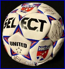 RARE signed WUSA official ball Hamm, Chastain, Lilly & more 2003 All-Star Game
