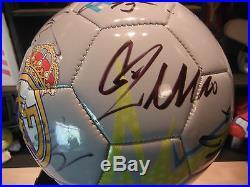 REAL MADRID CF 2015-2016 SIGNED x20 SOCCER BALL FOOTBALL Ronaldo-Benzema-Modric