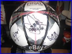 REAL MADRID CF Champions League Final MILANO 2016 SIGNED x23 SOCCER BALL FOOTBAL