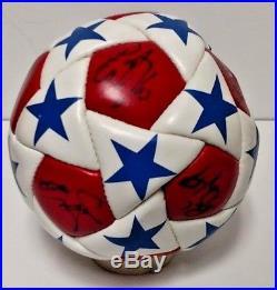 Rare Autographed Buffalo Blizzard Soccer Ball + Photo 14 Autographs Pikuzinski