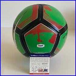 Raul Jimenez Carlos Vela Signed Mexico Copa America Size 5 Soccer Ball PSA
