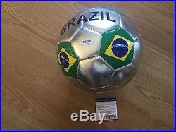 Ricardo KaKa Signed Brasil Brazil Soccer Ball PSA DNA COA Autographed b
