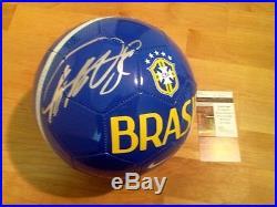 Ricardo KaKa Signed Official Brazil Futbol Soccer Ball Rare JSA Coa