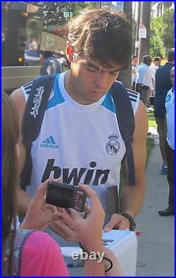 Ricardo Kaka Signed 11x14 Real Madrid Photo with proof