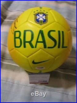 Ricardo Kaka Signed Nike Brazil Soccer Ball Psa/dna Futbol World Cup Brasil