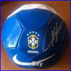 Ricardo Kaka Signed Team Brazil Soccer Ball JSA COA Autographed