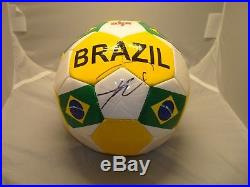 Ricardo Kaka Signed Team Brazil Soccer Ball PSA/DNA COA Autographed 1A