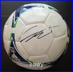 Ricardo Kaka'orlando City' Brazilian Midfielder Signed Soccer Ball Coaproof 2