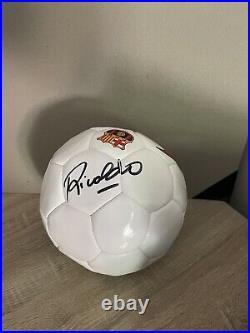 Rivaldo signed offical, original Barcelona training ball