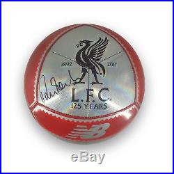 Robbie Fowler Signed Liverpool Football Soccer Ball Autographed