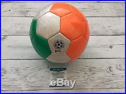 Robbie Keane Autographed Signed Ireland Soccer Ball Beckett BAS COA a
