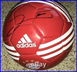 Robert Lewandowski Signed Bayern Munich Soccer Ball With Exact Proof
