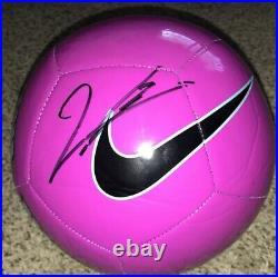 Robert Lewandowski Signed Nike Soccer Ball Bayern Munich Poland With Proof