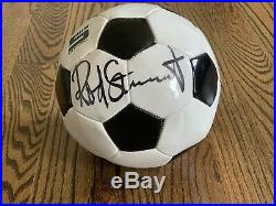 Rod Stewart Authentic Autographed Football / Soccer Ball