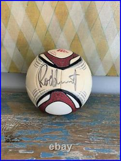 Rod Stewart Signed Soccerball