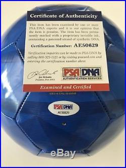 Ronaldinho Gaúcho Signed PSA DNA Autographed NIKE Brasil Soccer Ball CBF Brazil