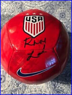 Rose Lavelle Signed Team USA Soccer Ball (JSA COA)