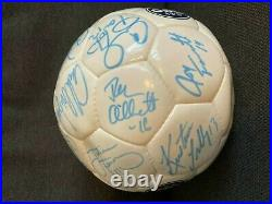 SIGNED 1999 USWNT Soccer Ball, autograph player FIFA Women's World Cup Team Nike