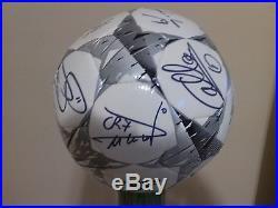 Soccer Ball Signed For 2015 Real Madrid Team