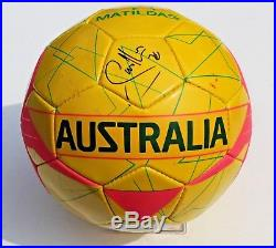 Samantha Sam Kerr Signed Australia Womens Matildas Soccer Ball withCOA #1