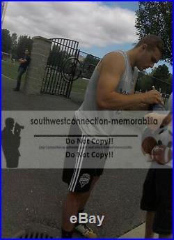 Seattle Sounders Jordan Morris USMNT Signed Autographed Logo Soccer Ball Proof