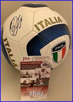 Sebastian Giovinco Toronto FC signed Italy Italia Full Size Soccer Ball JSA