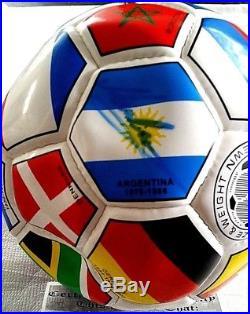 Soccer World Cup Ball PERSONALLY Signed by Maradona