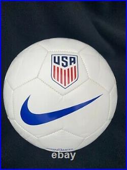 Sophia Smith signed Nike USA Soccer Ball Stanford Thornes