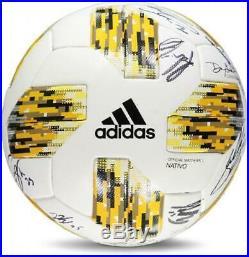 Sporting KC Signed MU Kick Childhood Cancer Soccer Ball 2018 Season & 26 Sig
