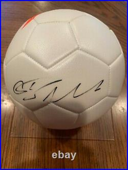Steal- Cristiano Ronaldo Autographed Soccer Ball