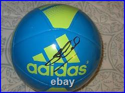Steven Gerrard Signed Adidas Soccer Ball Dc/coa (exact Proof) Liverpool Football