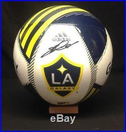 Steven Gerrard Signed Autographed LA Galaxy Soccer Ball PSA/DNA Cert # Z49890